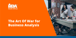 Slide cover for The Art Of War for Business Analysis presentation