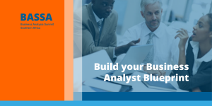 Slide cover for Build Your Business Analyst Blueprint presentation