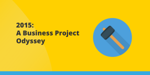 2015 - A Business Project Odyssey Cover