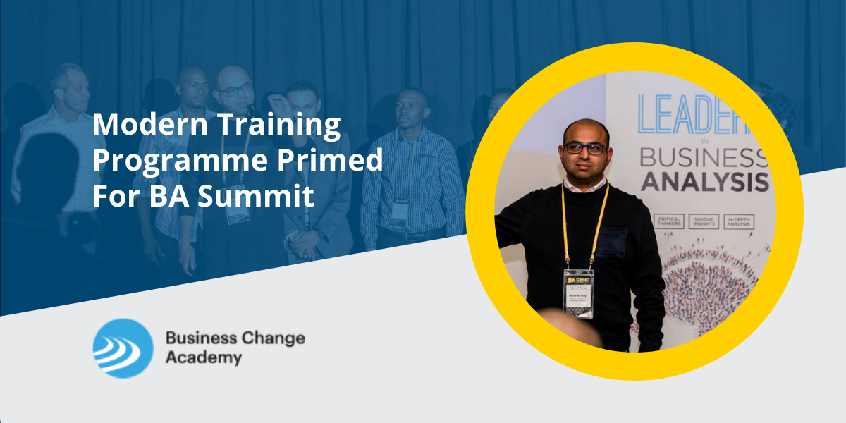 Modern Training Programme Primed For BA Summit Cover