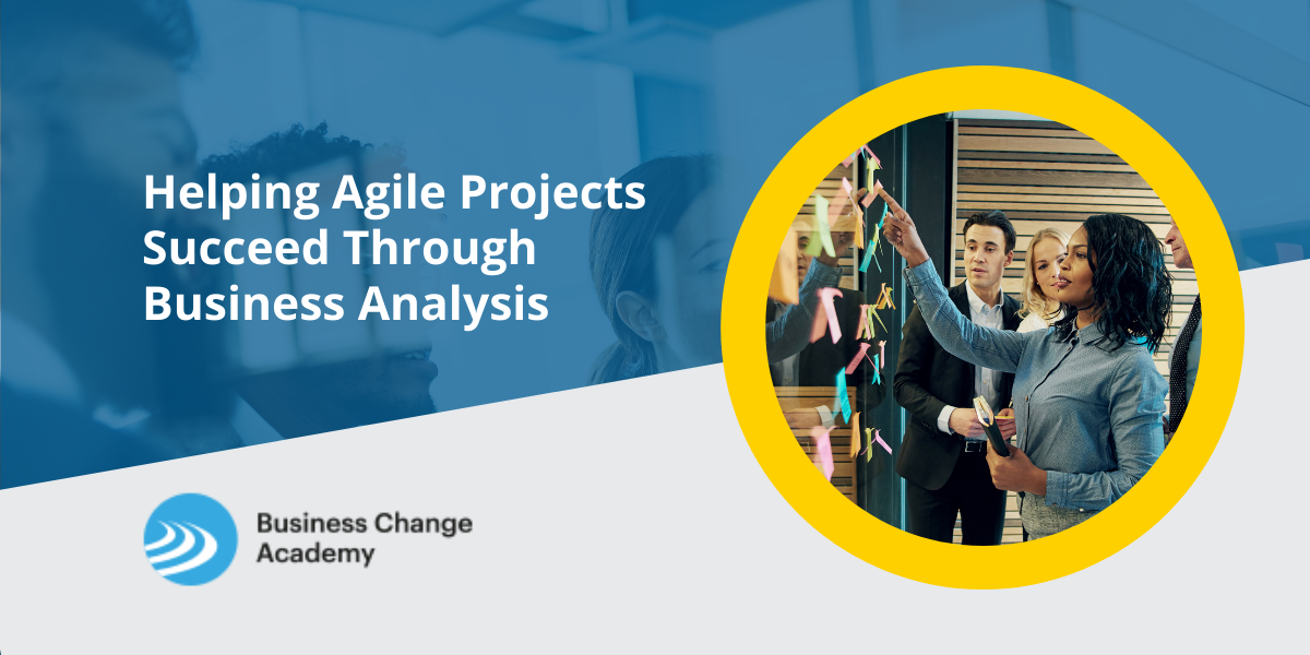 Helping Agile Projects Succeed Through Business Analysis Cover