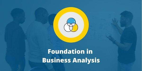 Foundation in Business Analysis Course Cover